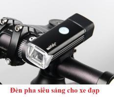 USB Sạc Hợp Kim Nhôm Xe Đạp Trước Ánh Sáng Đèn LED Đèn Pha – quốc tế
