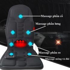 Ghế Mát Xa Đa Năng, Mat Sa Toan Than, Đệm massage hồng ngoại-giúp bạn giải quyết mọi vấn đề về việc mệt mỏi, đau nhức vai gáy, đau cơ, lưu thông tuần hoàn máu-BH 12 tháng