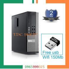 Máy tính bàn Dell Optiplex 790 Cpu G620, Ram 4gb, Hdd 250gb + Tặng usb wifi – Bảo hành 24 tháng