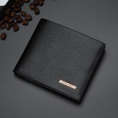 Bóp ví nam da PU – Cá tính – Kiểu dáng hiện đại – Dáng ngang(đen và cafe sẫm – BT)