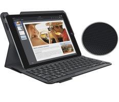 Bàn Phím iPad 6th 2018 Hiệu Logitech Type + Bluetooth Kiêm Bao Da Bảo Vệ