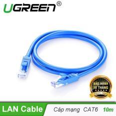 Dây mạng bấm sẵn 2 đầu Cat6 UTP Patch Cords dài 10M UGREEN NW102 11205 – Hãng phân phối chính thức
