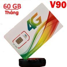 Thánh sim 4G Viettel siêu tốc V90 ưu đãi 60Gb/tháng