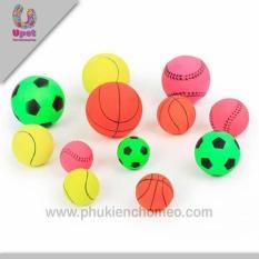 SP185 – Bóng đá bóng rổ màu (Đồ thú cưng Hoamy).