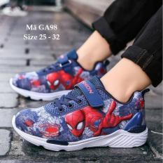 Giày siêu nhân bé trai, giày người nhện spiderman GA98