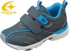 Giày MOONSTAR – CARROT cho bé 2 quai dán thời trang 16SS CR C2138 ( GRAY )