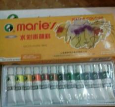 Màu nước maries 12 màu và 18 màu