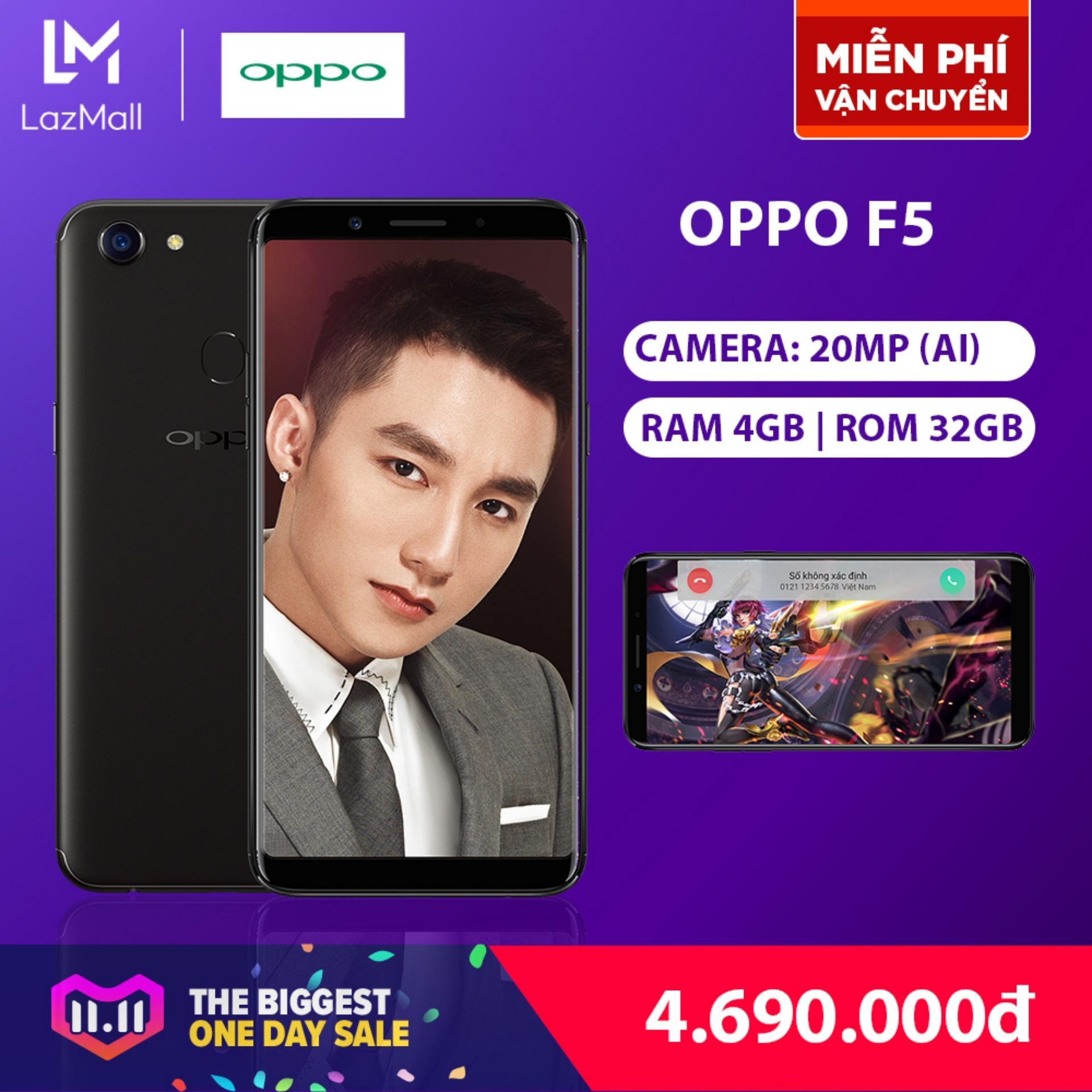 OPPO F5 32GB - Hãng phân phối chính thức