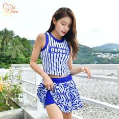 Áo Tắm Kẻ Xinh AT091 MAI HOA