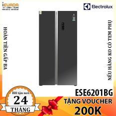 (BAO VẬN CHUYỂN + LẮP ĐẶT) Tủ Lạnh Side By Side Electrolux ESE6201BG – CHỈ BÁN HỒ CHÍ MINH