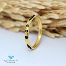 Nhẫn Cầu Hôn, Nhẫn Vàng Nữ, Nhẫn Vàng Nam, Nhẫn Lông Voi Chất Liệu Vàng 10K – Thương Hiệu Bảo Tín