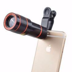 Lens zoom 8X – Ống kính cho điện thoại, máy tính bảng (Đen)