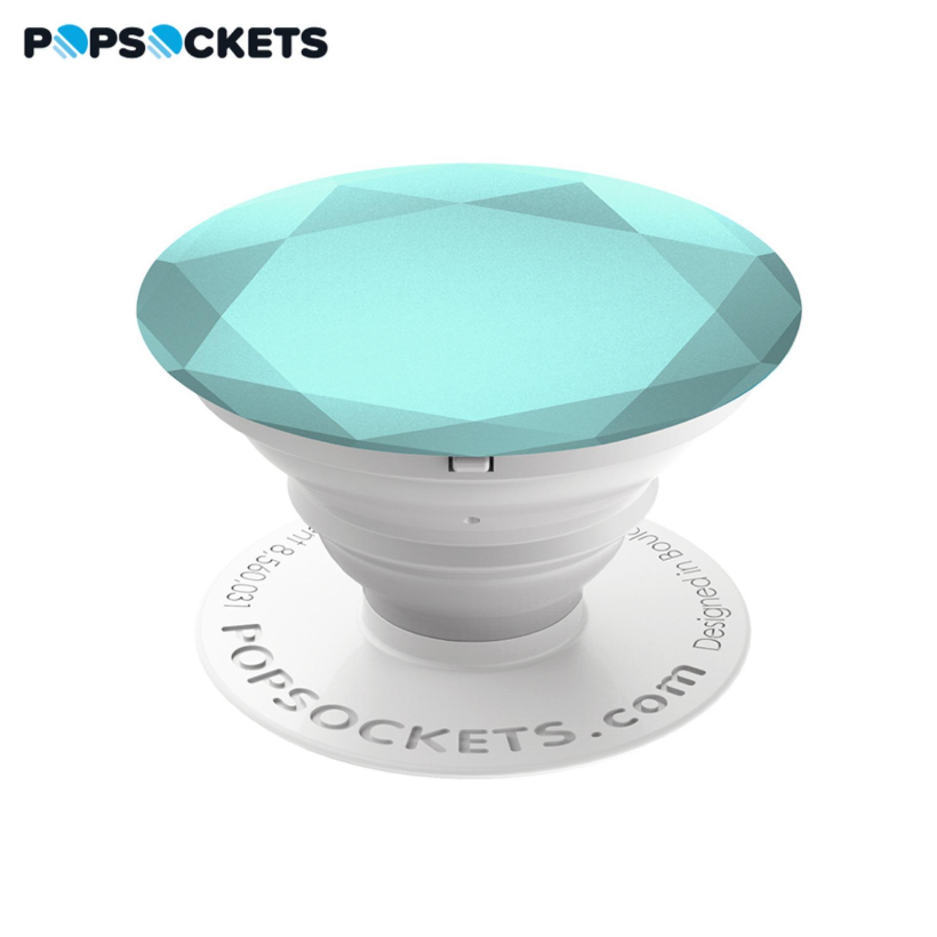Giá Đỡ Điện Thoại Thời Trang PopSockets Glacier Metallic Diamond