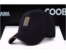 Nón Mũ lưỡi trai nam vải kaki thời trang 2018 EDIKO đen