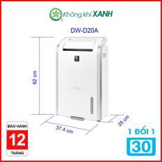 Máy lọc không khí và hút ẩm Sharp DW-D20A-W