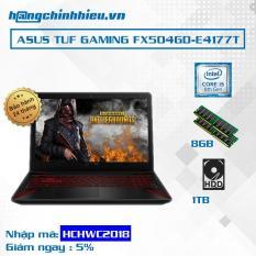 Laptop ASUS TUF Gaming FX504GD-E4177T i5-8300H, 8GB, 1TB, VGA GTX 1050 2GB, 15.6″, Win 10 – Hãng Phân Phối Chính Thức