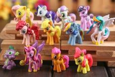 Đồ Chơi Mô Hình 12 Nàng Ngựa Pony Xinh Đẹp 4cm-5cm