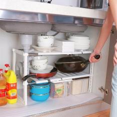 Kệ gầm nhà bếp tiết kiệm không gian