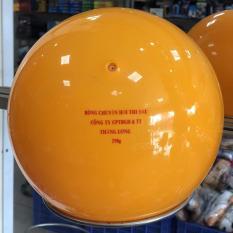 Bóng chuyền hơi 200g và 250g loại tốt Anh Huy, Thăng Long, TVC đầu trâu loại chuẩn, tròn, không méo cho nam nữ, người cao tuổi màu cam, vàng cam, vàng chanh, Tặng kim bơm bóng