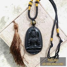 Phật bản mệnh tuổi Dậu – Bất Động Minh Vương đá Obsidian