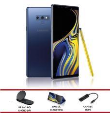 Điện thoại Samsung Galaxy Note 9 – Hãng phân phối chính thức + Tặng Bộ quà Bao da Clear View, Cáp Dex HDMI và Đế sạc đôi không dây