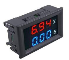Đồng hồ Vôn Ampe – Đồng hồ điện tử – 0-100v