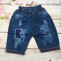 Quần Lửng Jeans Mềm Thêu Đắp Size Đại – Qt41[25-32Kg]
