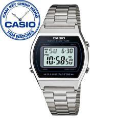 Đồng hồ nữ dây thép không gỉ Casio Standard Anh Khuê B640WD-1AVDF