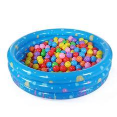 Nhà bóng tròn 3 tầng kiêm Bể bơi (90xCao30cm)/ Nhà chơi cho trẻ Bể bơi Phao bơi