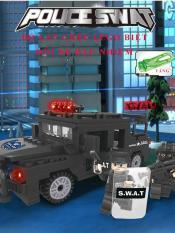 Lắp ráp Lego đội xe đặc nhiệm SWAT – 6506
