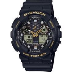 Đồng hồ dây nhựa cao cấp Casio Anh Khuê G-SHOCK GA-100GBX-1A9DR