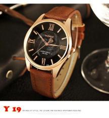 Đồng hồ nam Yazole Y19-22 dây da