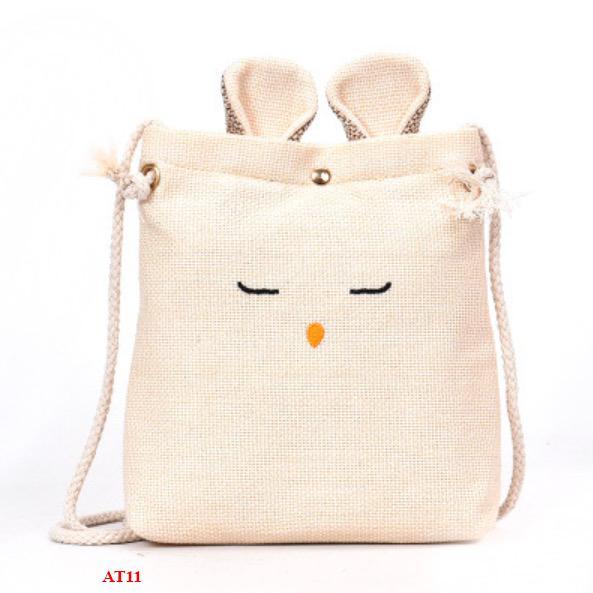 Túi vải đeo chéo ulzzang Tai Thỏ – AT11