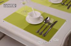 Bộ 4 tấm trải bàn ăn PVC 46×30 cm