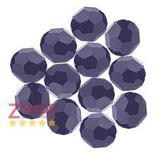 Gói 10 viên pha lê cao cấp lấp lánh hạt tròn giác lớn 10 ly dùng làm vòng tay dây chuyền kết áo cưới