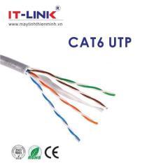 Dây cáp mạng CAT6E UTP bấm sẵn 2 đầu 10 mét màu trắng