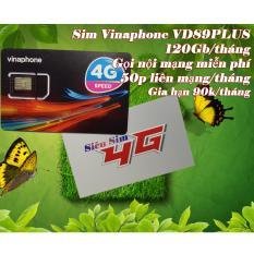 Sim 4g vina plus 120gb/tháng thỏa sức lướt web cày game