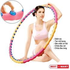 Lắc vòng nhựa, Lac vong sau sinh – Vòng lắc eo giảm cân hiệu quả với các hạt hoạt tính massage đánh tan mỡ bụng, giúp eo thon đẹp – BH UY TÍN 1 ĐỔI 1