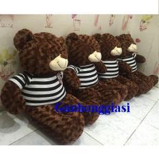Gấu bông Teddy Cao Cấp khổ vải 1m màu Sôcola