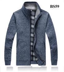 Áo len nam cao cổ lót nỉ BS59