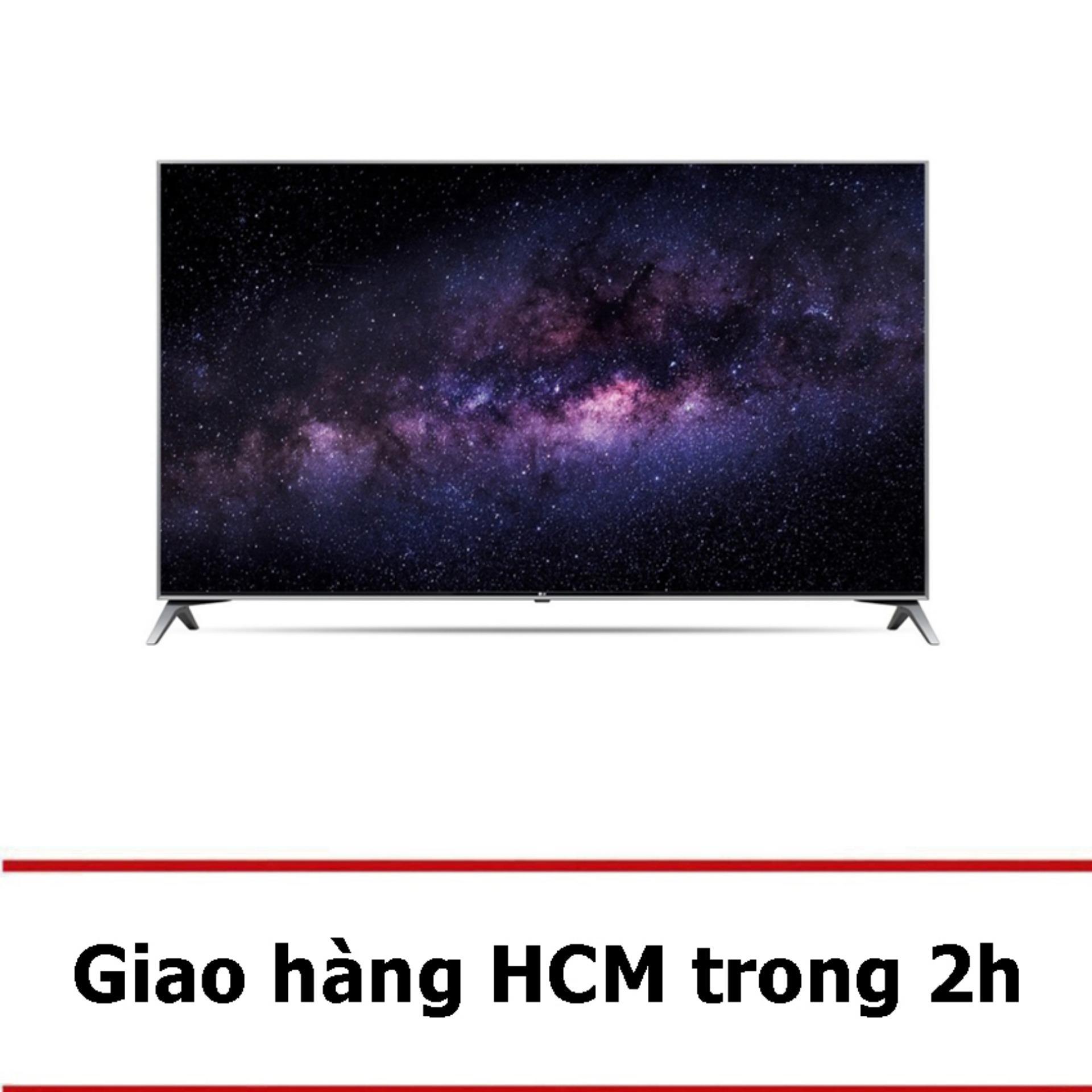 Smart TV LED LG 49 inch UHD 4K HDR – Model 49UJ750T (Đen) – Hãng phân phối chính thức