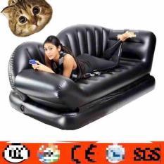 Giường hơi gấp gọn thành ghế đa năng ( đen )