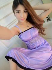 Đầm nữ – Đầm ngủ xòe cực dễ thương – DN024