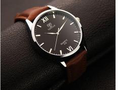 Đồng hồ nam thời trang dây da cao cấp Yazole Q01(Cập nhật 2019)
