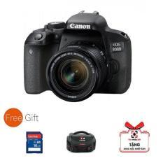 Máy ảnh Canon EOS 800D kèm lens 18-55mm ( Hàng Canon Lê Bảo Minh) – Tặng túi, thẻ 16G, khóa học nhiếp ảnh