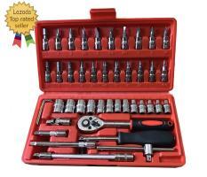 Bộ dụng cụ mở bu lông ốc vít, bộ dụng cụ sửa chữa ô tô xe máy, bộ dụng cụ đa năng 46 chi tiết