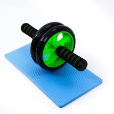 Con lăn tập cơ bụng Ab, dụng cụ tập gym 2 bánh tập bụng giảm mỡ tặng kèm thảm, giảm eo chịu lực tốt, bền bỉ (có video và ảnh thật)