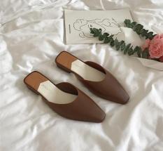 [Nên đi rộng mới đẹp] Dép mules nữ Sunnie Shoes