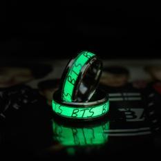 Nhẫn dạ quang BTS BangTan phát sáng f103