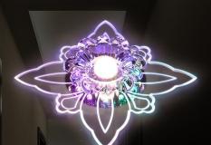 Đèn pha lê âm trần LED PLVC03